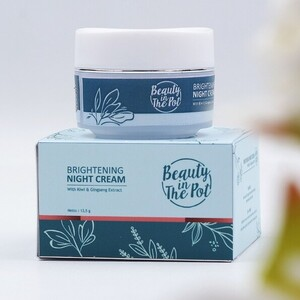 CEK BPOM Brightening Night Cream with Kiwi & Gingseng Extract BEAUTY IN THE POT
